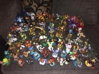 121 skylander figures and game