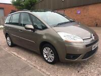 CITROEN C4 GRAND PICASSO 1.6 HDI VTR PLUS 7 SEATER 12 MONTHS MOT 2008