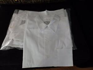 Cook's Shirts, White, Short Sleeved - NEW, Still in Package