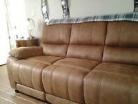 Two new sofas one three seater one two seater