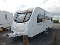 STERLING ECCLES AMEYTHYST - 2011 - 6 BERTH - TOURING CARAVAN - PART OF COASTFIELDS GROUP - SALE