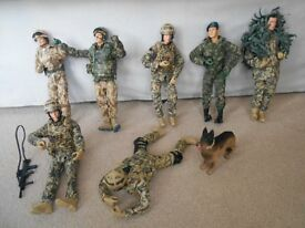 TOY ARMY FIGURES