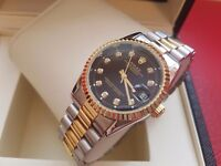 New Swiss Rolex Date Just 2tone for sale!£35!
