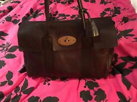 Mulberry Bayswater chocolate brown