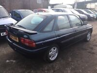 A RARE LOW MILEAGE FIRD ESCORT MISTRAL ONLY 65000 MILES FROM NE2 MOT LOVELY DRIVER FUTURE CLASSIC