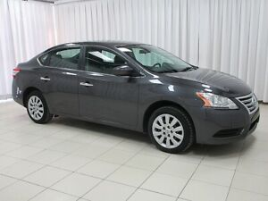 2015 Nissan Sentra AUTO WITH A/C, CRUISE, KEYLESS ENTRY AND ONLY