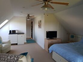 Very Large Double Bedroom, Ensuite Shower Bathroom, Balcony Views