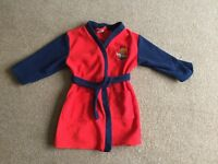 Bob the builder dressing gown 3-4 years