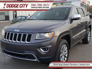 2016 Jeep Grand Cherokee Limited   4x4 - Heated Leather, R.Start