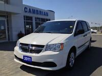 2011 Dodge Grand Caravan SE with Stow n' Go Seating!