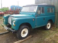 Land rover X - reg 1981 spares or repairs