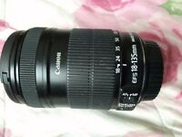 Canon macro 18-135 lens & 2 more
