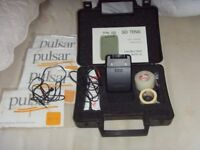 TENS MACHINE WITH DUAL CHANNEL STIMULATION, ELECTRODES, BOXED