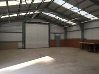 Large Garage to rent approx 3000 sq ft inc Mezzanine, electric and water.
