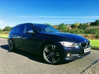 2014 BMW320D SPORT TOURING IMPERIAL BLUE ***FINANCE FROM £58 PER WEEK***