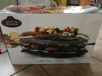 Brand new stone raclette
