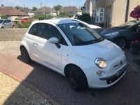 08 Fiat 500 Diesel Sporting, great spec/colour combination, spot on service history, very ckean