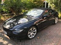BMW 650 convertible 2005 with Eibach b12 pro-kit suspension and Eisenmann Exhaust
