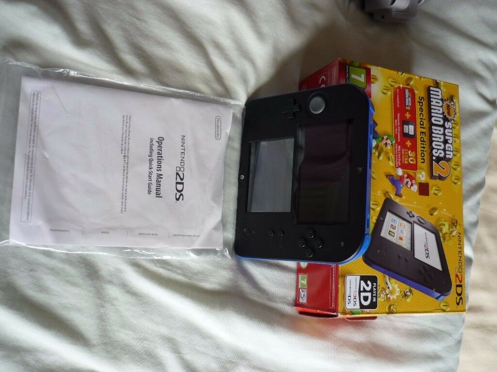NINTENDO 2DS SUPER MARIO BROS 2 - SPECIAL EDITION