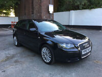 2007 AUDI A3 1.9 SE TDI 5 DOOR HATCH BACK, F/S/H, 3 OWNERS, £1560 SPENT LAST YEAR, HPI CLEAR