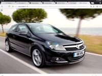 Black Vauxhall astra wanted for my sons first car