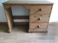 Pine dressing table.