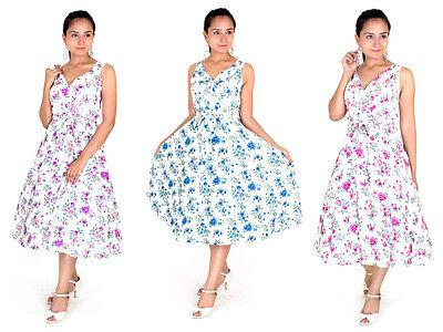 - Dress 40s 50s Swing Vintage Rockabilly Ladies Retro Prom Party Plus Size 6 - 24