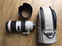 Canon 70-200 f2.8 lens