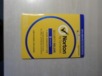 Duplicate gift. Norton Security Deluxe, for 5 PC's. unused