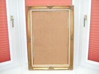 antique look gold picture frame
