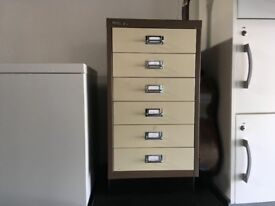 Bisley 6 drawer filing unit