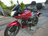 Honda CBF125 Motorcycle 2013 (63 plate)