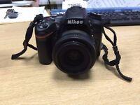 Nikon D7100 body with Nikon 35mm 1.8g Lens