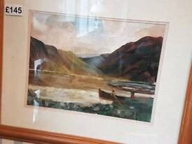 Irish oil painting