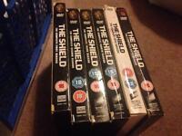 The shield season 1-6 DVDs