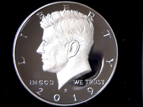 2019 S Proof Kennedy Half Dollar 50c **FREE SHIPPING** IN STOCK