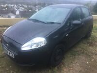 FIAT PUNTO 1.2 ACTIVE BLACK LOW MILEAGE LOW INS CHEAP TAX PERFECT FIRST CAR IN SUPERB CONDITION