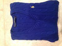 Ralph Lauren Sport cable knit jumper