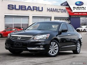 2012 Honda Accord EX-L V6 LOW KM | ONE OWNER | NO ACCIDENTS