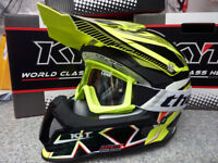 New 2018 Suomy Mr Jump YELLOW FLO Helmet Thor Goggles Motocross Enduro S M L XL