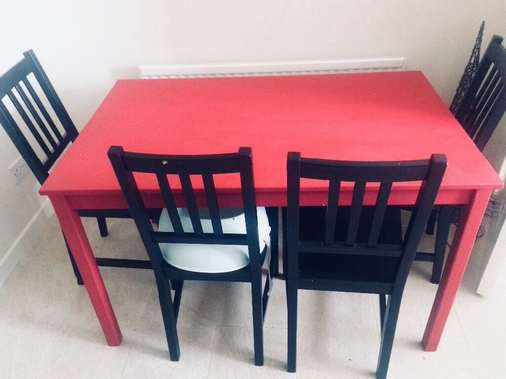 Dining Table And Chairs Moving Sale Ikea Made