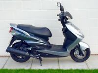 STUNNING 2012 YAMAHA NXC 125 CYGNUS X HPI CLEAR UK DELIVERY AVAILABLE