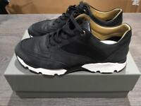 BLACK ANDROID HOMME BELTER RUNNER TRAINERS SIZE 8