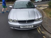 JAGUAR X-TYPE 2.0L 4 door Salon (2003) £895