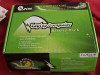 Brand new laptop battery