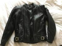 Frank Thomas 2pc motorbike leathers- jacket and trousers - worn couple of times £300 worth