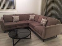 Nearly New DFS Aurora Fabric Corner Sofa Suite