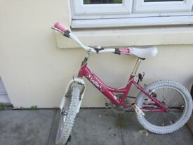 Girls 18 inch Lottie bicycle
