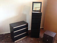 ikea drawers with vanity mirror and jewellery compartment