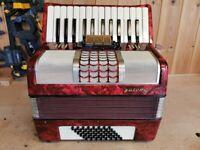 Galotta, 48 Bass, 2 Voice (MM), Tremolo Tuned, Piano Accordion. Lessons Available.